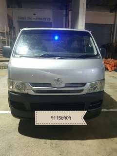 Toyota Hiace for long term rental