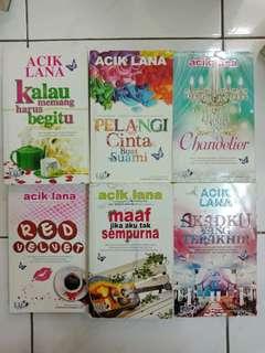 Novel Melayu RM15 semua novel