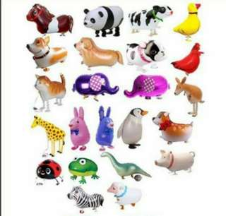 Animal air walker balloons