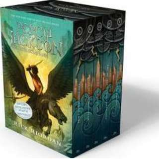 Percy Jackson & the Olympians Complete series