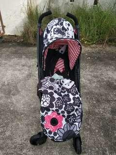 Cosatto Yo Stroller Mono Bloom Special Edition