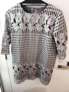 Custom made lace Blouse