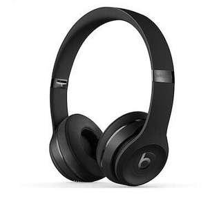🚚 Beats Solo3 Wireless (Matte Black)