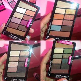 ✨ CLEARANCE INSTOCK SALE: Wet N Wild Color Icon Eyeshadow Palette