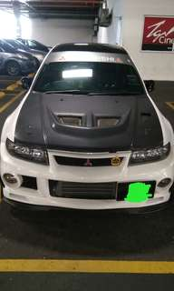 Mitsubishi lancer Evo 6 turbo evolution swap