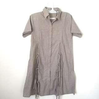 SHOPATALEEN lokal brand stripes Dress