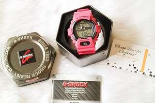 Casio G-Shock Pink Resin Strap Watch GLS-8900-4