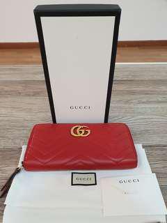 Gucci marmot wallet
