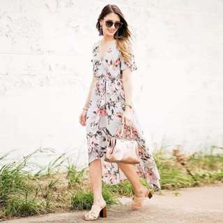 Z&K Casual Bamboo Printed Dress