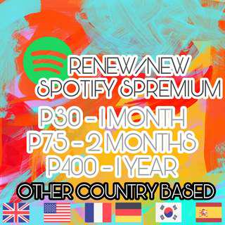Spotify Premium (Other Country Based)