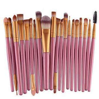 20pcs Prossefional Make Up Brush Set