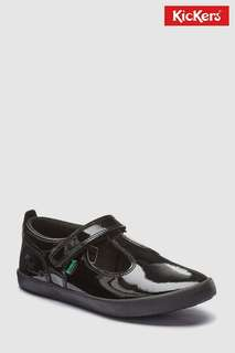 Kickers女童學生鞋