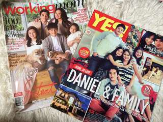 Daniel Padilla Family Magazine Bundle