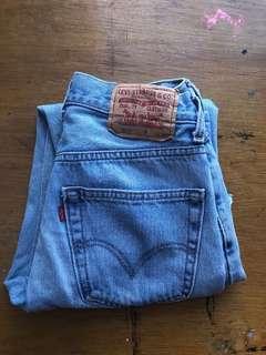 Vintage Levi 550's Denim Jeans