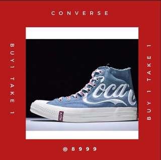 buy1take1 LIMITED EDITION Converse Coca-Cola Unisex