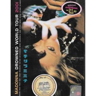 MADONNA Drowned World Tour 2001 DVD