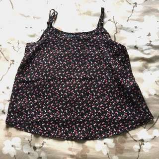 Cotton On Floral Cami Strap Top