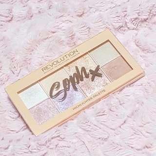 ✨ INSTOCK SALE: Makeup Revolution Sophx Highlighter Palette