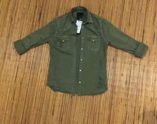 Jacket Denim Zara Man