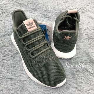 🚚 愛迪達 Adidas Original Tubular Shadow 范冰冰著用款 墨綠色粉標
