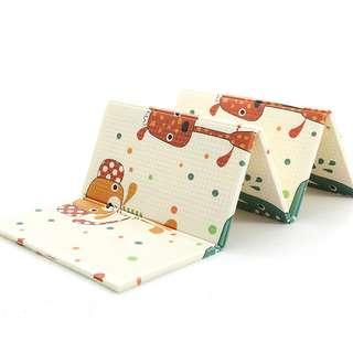 Baby Playmat Crawling Mat Foldable Pad Kids Carpet 148x192CM Easy Storage