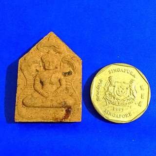 Phra Khun Paen Amulet by Lp Mian - Cambodia style