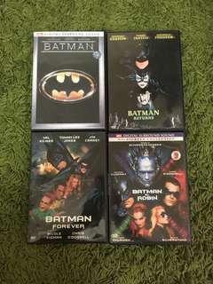 DVD Batman 1.2.3.4
