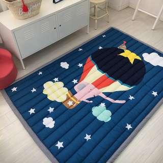 Baby Play Mat 2CM Thick Children Carpet 140x195CM Tatami Rug Machine Washable