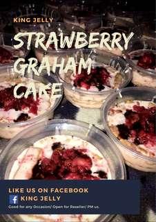 Strawberry graham