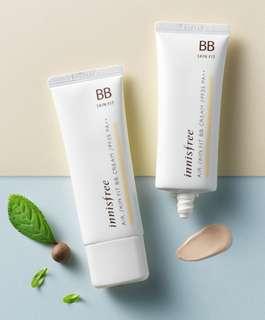 🚚 Innisfree Air Skin Fit BB Cream  #01