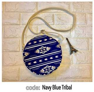 Navy Blue Tribal