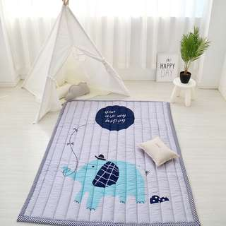 Play Mat Baby Toddler Learn to Walk Playmat Carpet Machine Washable 140x195CM