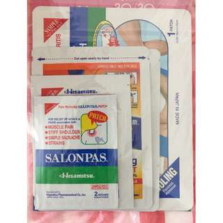 Salonpas (hisamitsu) pain relieving patch