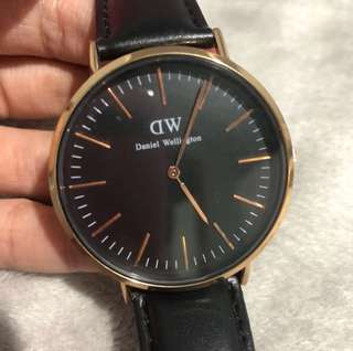 Daniel Wellington Sheffield Rose Gold Watch
