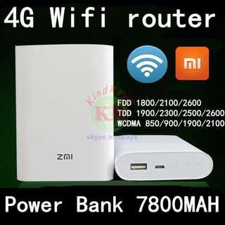 4G Router 米家 4G 路由器 (有尿袋功能 w/ powerbank)