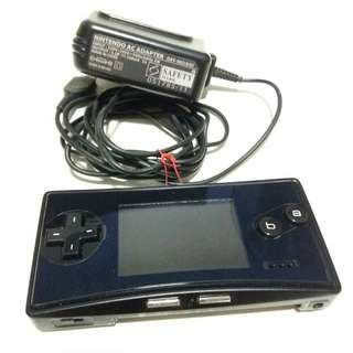 100% authentic black gameboy micro gbm