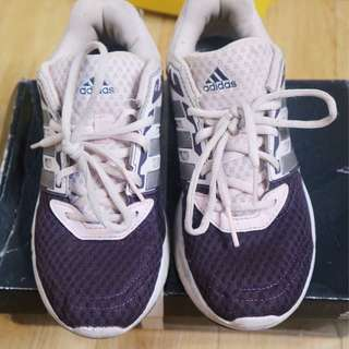 ADIDAS RUNNING SHOES (size 5)