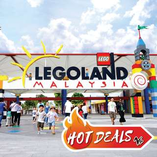 LEGOLAND 1-Day Combo Ticket (Theme Park+Water Park)