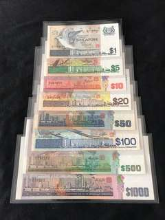 Bird Series $1 to $1000