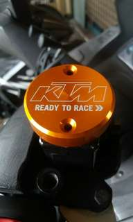 KTM Brake / Clutch Fluid Reservoir Tank Cover