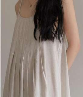 棉麻洋裝 全新 轉讓