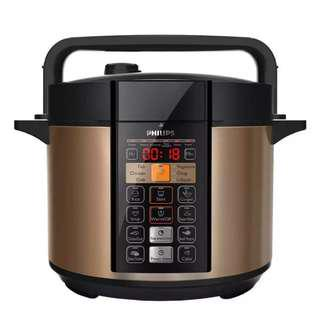 PHILIP HD 2139 VIVA COLLECTION ME COMPUTERIZED ELECTRIC PRESSURE COOKER