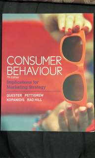 MKTG 1052 Buyer Behaviour
