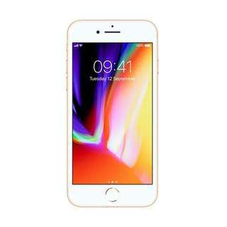 Kredit iphone 8 256GB GOLD cicilan tanpa CC sarat KTP wajib