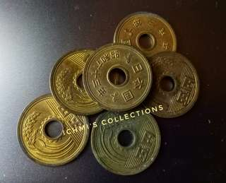 Assorted Vintage Chinese Coins