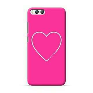 Love Pink Heart Xiaomi Mi 6 Custom Hard Case