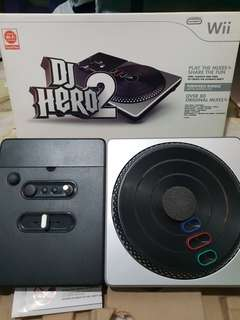 DJ Hero for Wii barely used
