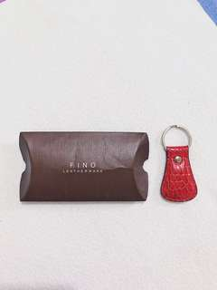 FINO Leather Key Chain