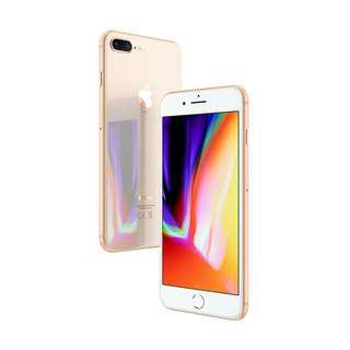 Kredit iphone 8 plus 256GB new gold/gray cicilan tanpa CC syaratnya KTP aja cair