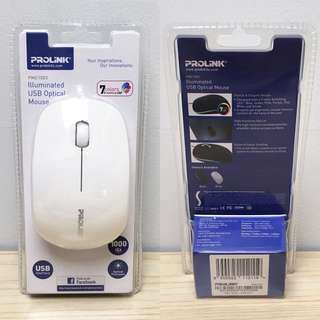 USB Optical Mouse - Prolink PMC 1003